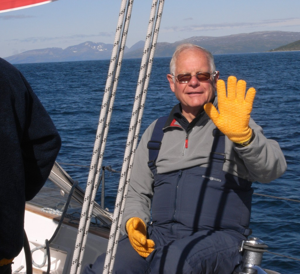Werner T. Müller auf hoher See